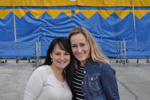 Jill and Janie at Cirque du Soleil