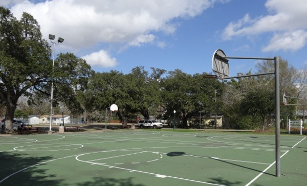 League Park Basketball Court