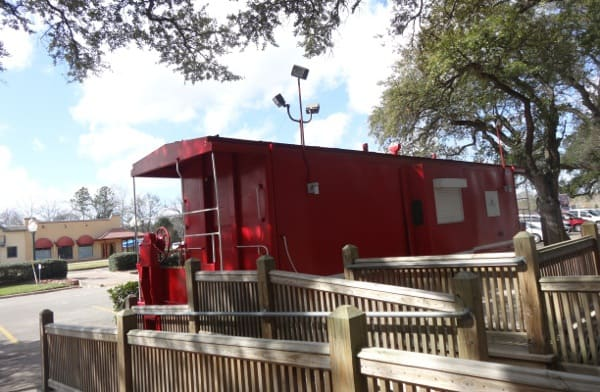 League Park Caboose