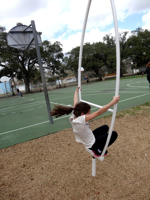 League Park Stand Up Swing
