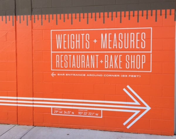 Weights and Measures Sign
