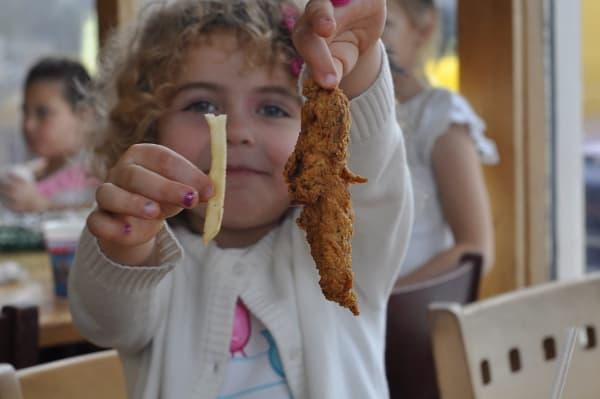 Aviators Grill Kids Meal