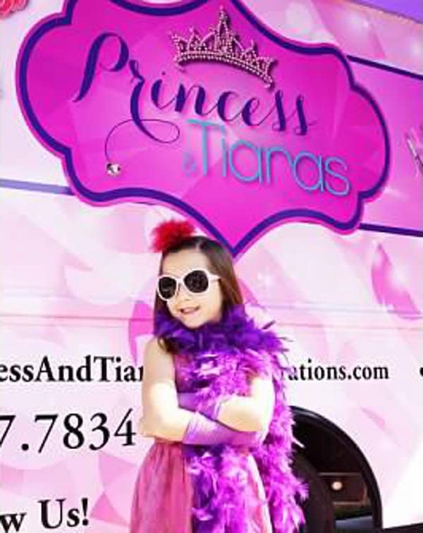 Bianca Barona Abud of Princess and Tiaras Spa Celebrations Truck