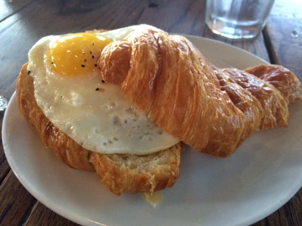 Blacksmith Croissant with Egg
