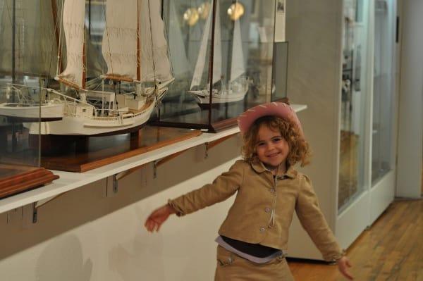 Brooke at Houston Maritime Museum