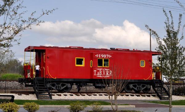 Caboose at Tomball Train Depot