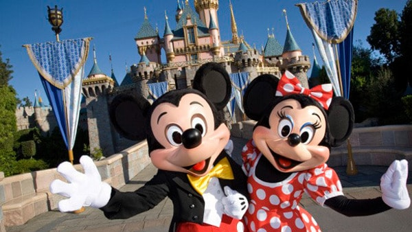 Disneyland Mickey and Minnie from The Mouse Trip
