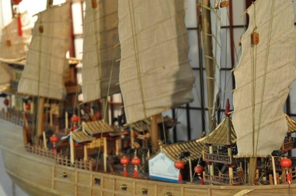 Houston Maritime Museum Chinese Ship