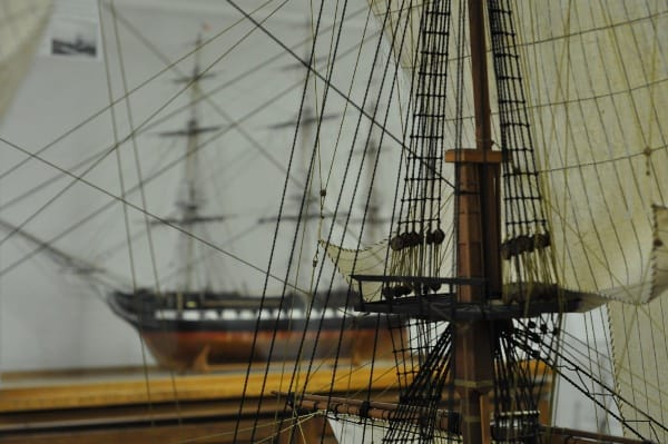 Houston Maritime Museum Sails of Ship