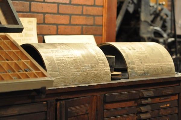 Houston Printing Museum Equipment