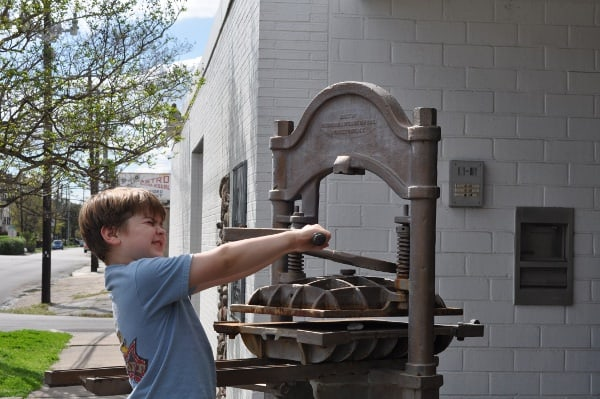 Houston Printing Museum Outside