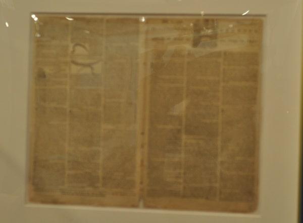Houston Printing Museum Pennsylvania Gazette