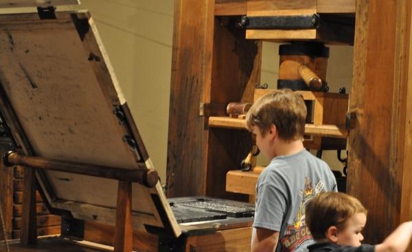Houston Printing Museum Print Press