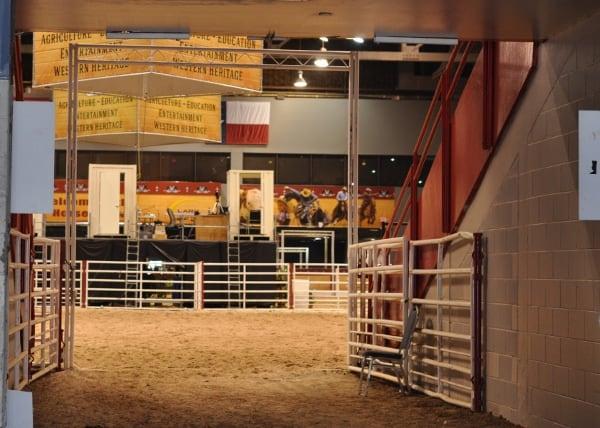 Houston Rodeo Horse Arena