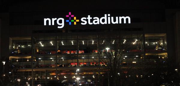 Houston Rodeo NRG Stadium at Night