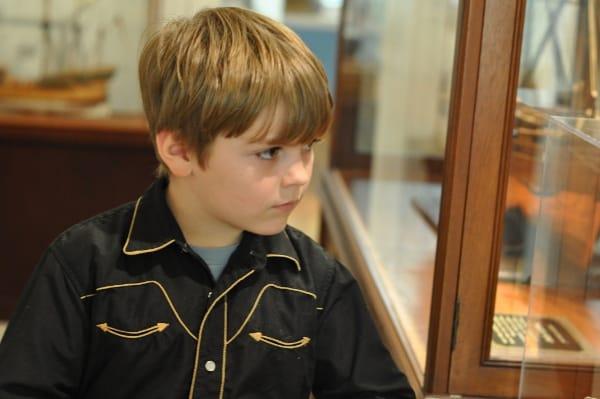 Joe at Houston Maritime Museum