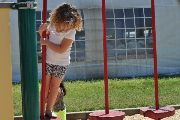 Moody Gardens Playground Lillypads