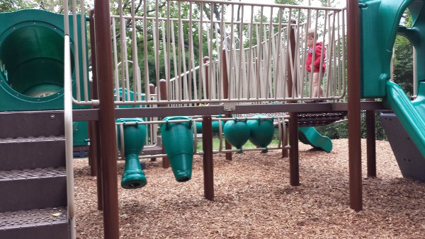 Nature Discovery Center Playground Music Station