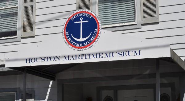 Outside Houston Maritime Museum