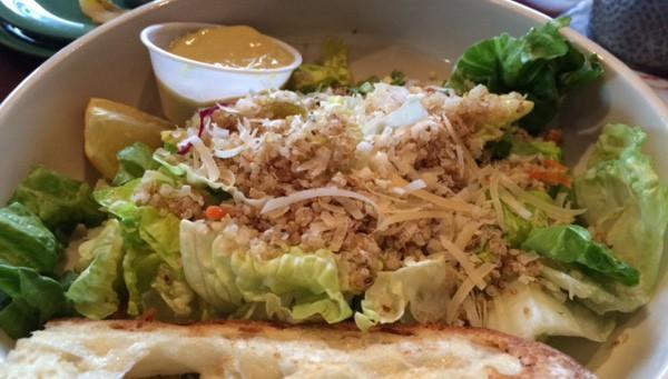 Quinoa Ceasar Salad Amazon Grill