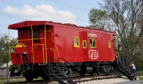 Tomball Train Depot Caboose