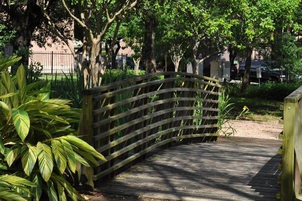 Bell Park in Houston Bridge