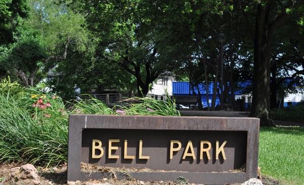 Bell Park in Houston