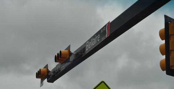 Bellaire Blvd Sign
