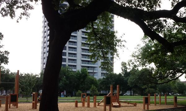 Hermann Park Exercise Station 6