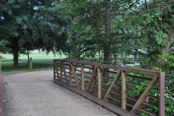 Hermann Park Golf Course Trail Bridge
