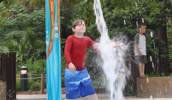 Houston Zoo Splash Pad Buckets