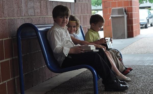 Robinson Westchase Houston Public Library Bench