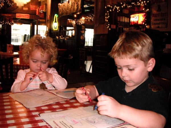 Spaghetti Warehouse Coloring Pages