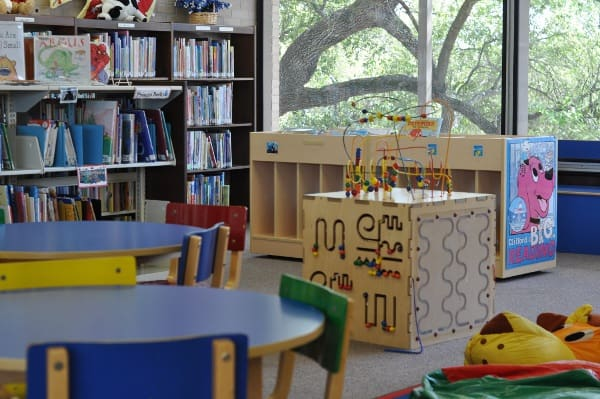 West University Library Childrens Section Upstairs