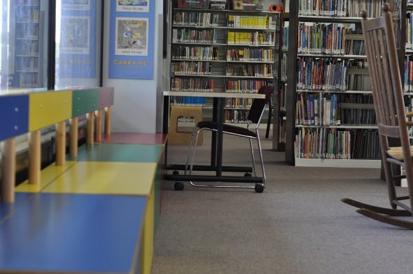 West University Library Upstairs Kid Area