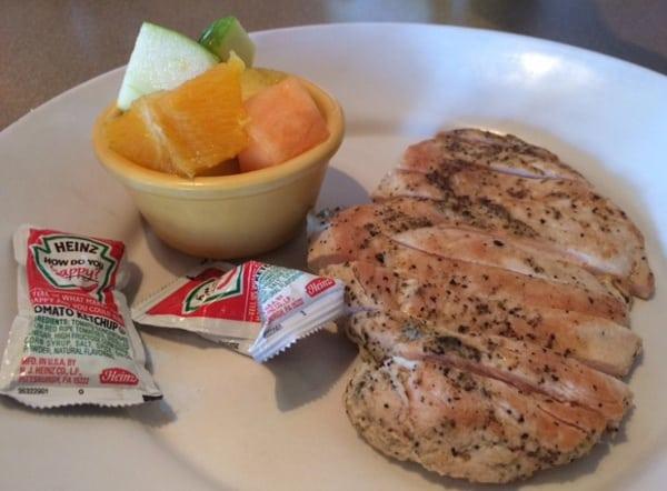Zoes Kitchen Kids Chicken Meal