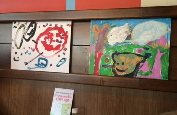 Zoes Kitchen Paintings