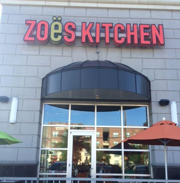 Zoes Kitchen on Washington Ave