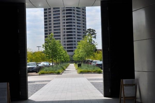 Centennial Gardens Hermann Park Parking Lot