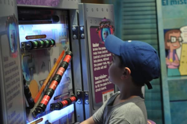 Childrens Museum of Houston Cyber Chase 1