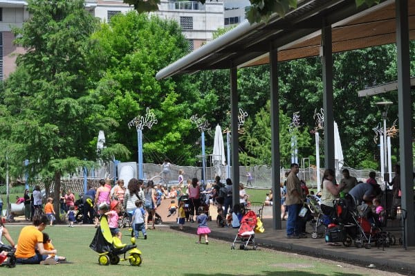 Discovery Green Toddler Tuesday Playground