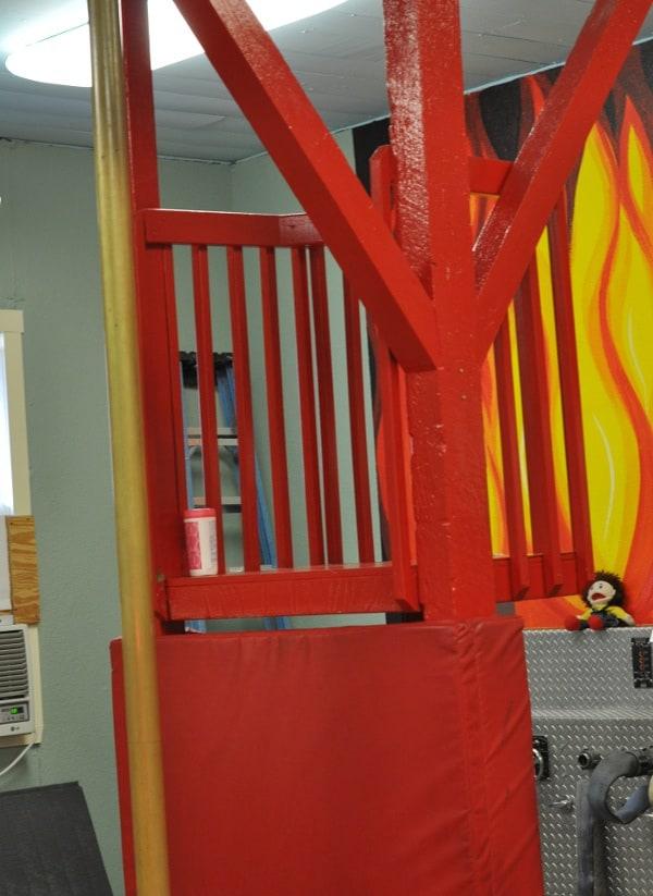 Houston Fire Museum Fireman Pole