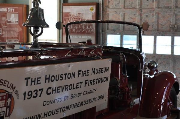 Houston Fire Museum Truck
