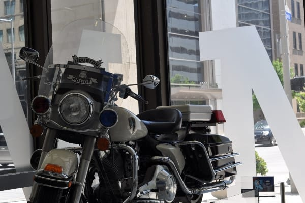 Houston Police Museum Motorcycle