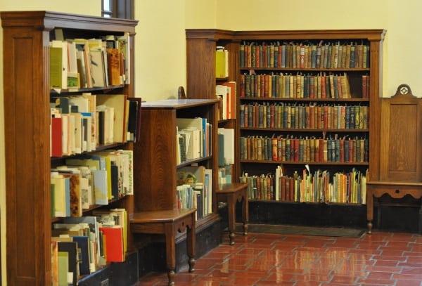 Julia Ideson Libary Shelves and Chairs