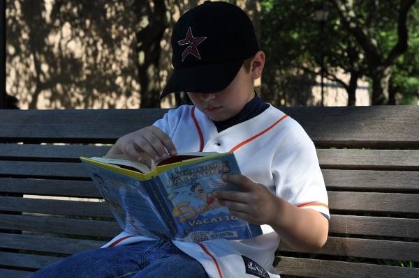Reading Charlie Joe Summer Vacaton