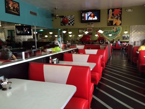 59 Diner Houston Booths