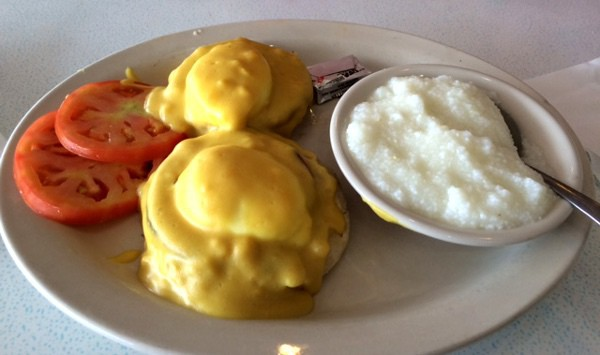 59 Diner Houston Eggs Benedict
