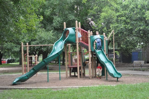 Big Playground at Grady Park Houston