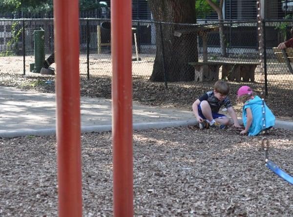 Burying Treasure at the Park